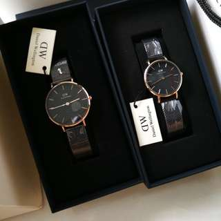 Daniel Wellington 32mm & 28mm Ashfield Watch