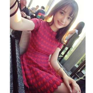 [PREORDER] Red Dress in S-XL