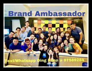 WE ARE EXPANDING ! JOIN US EVENT AMBASSADOR!!