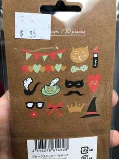 即影即有相紙貼紙 裝飾 instant mini sticker