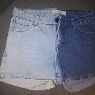 Ombre semi highwaist short