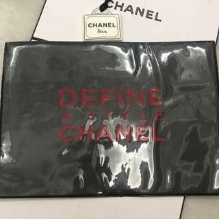 Chanel double sided folder