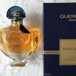 Authentic Guerlain Shalimar Perfume