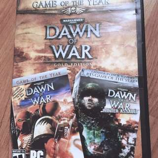 Authentic Dawn of War Gold Edition