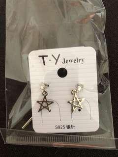 Earrings (silver needles)