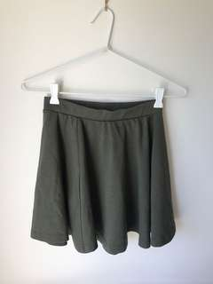 Cotton in skirt
