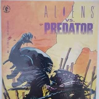 Aliens vs Predator Comic #0