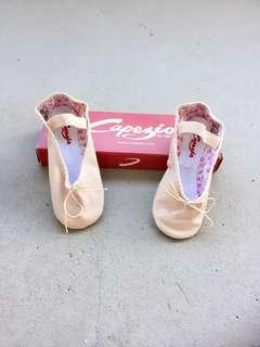 Pink leather Capezio Ballet Shoes