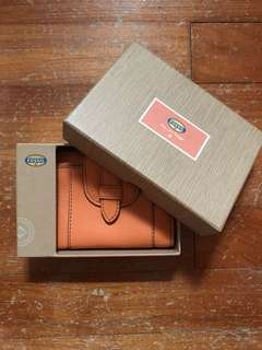 Fossil Marlow Multifunction Light Orange Wallet