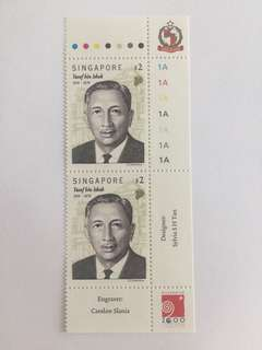 Singapore 1999 Yusof Bin Ishak mnh in pair