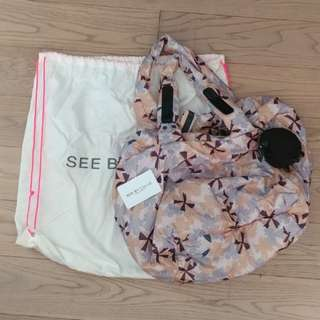 100% real See By Chloe see by chole 手袋 casual bag tote bag brand