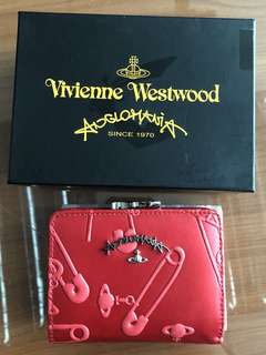 Vivienne Westwood small wallet red