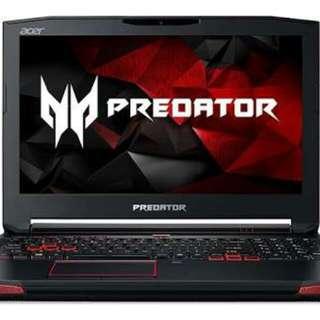 Kredit laptop gaming acer predator nitro series