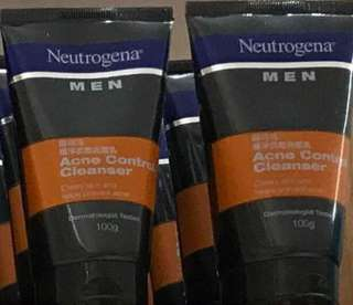 Neutrogena Men's Acne Control Face Wash