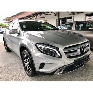 2016 Mercedes Benz GLA200 1.6 (A)SHOWROM CONDITION