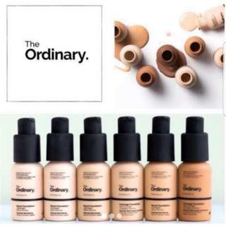 3.1R THE ORDINARY COVERAGE FOUNDATION