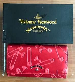 Vivienne Westwood long wallet red