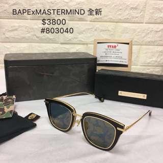 BAPE x MASTERMIND  全新