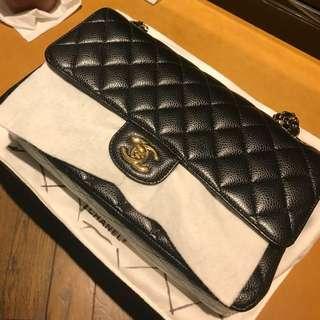 Chanel coco 黑荔枝金鍊 2.55