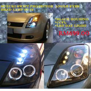 SUZUKI SWIFT PROJECTOR HEAD LIGHT