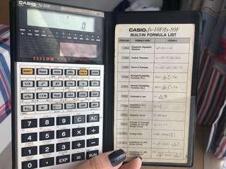 Casio fx-50F 計數機