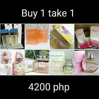 BUY 1 TAKE 1 AUTHENTIC PERFUME