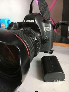 Canon 6D Kit including 24-105 F4