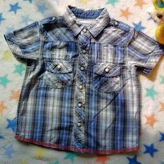 Gingersnaps check trendy shirt