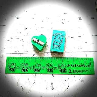Kerokerokeroppi 90 間尺擦膠 Keroppi Sanrio Ruler Eraser