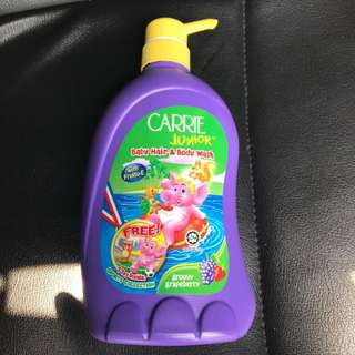 Carrie Junior baby hair and body wash (700g)
