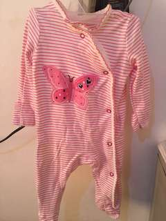 pretty pink onesies