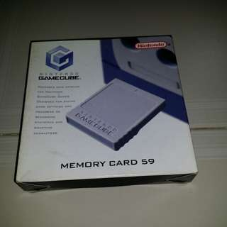 Nintendo Gamecube Memory Card 59
