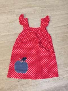 Rhubarb girls Dress
