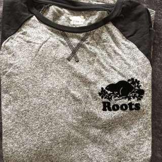 🚚 Roots  長袖上衣 加拿大