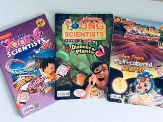 Young Scientists 2018 - level 1,2 and 3 (3 copies)