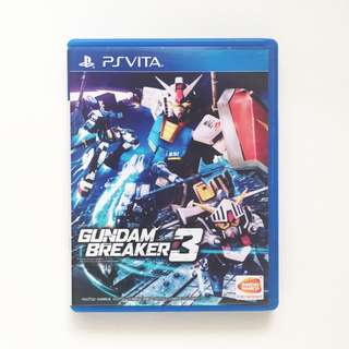 Gundam Breaker 3 R3 for PS Vita