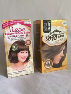 Kao Liese & OZAWA Bubble Hair Color Foam Dye