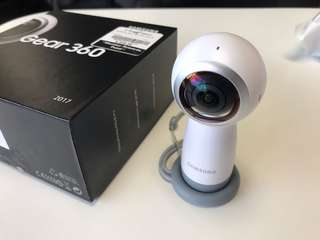 Near Mint Samsung Gear 360 Camera with Warranty