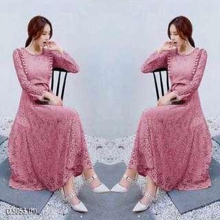 Lace dress ; shop to fashion
