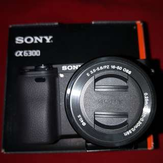 Sony ILCE-6300+kit 16-50