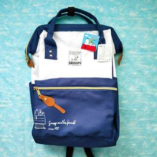 Snoopy Navy Blue Backpack