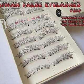 Human hair eyelashes extension