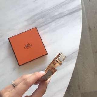 Hermes H Clic Clac Bracelet