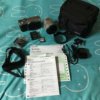 Fujifilm X-A10可換鏡相機