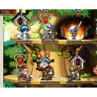 MaplestorySEA Aquila Account