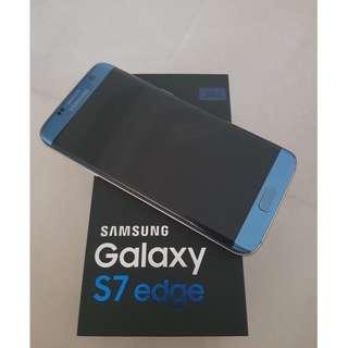 Samsung S7 Edge Coral Blue