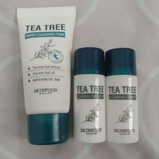 Skinfood Tea Tree trial kit