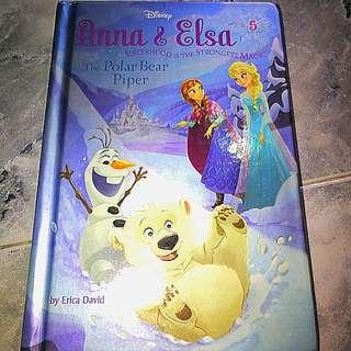Anna and Elsa The Polar Bear Piper