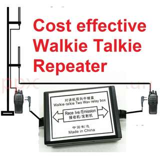 Walkie Talkie Repeater Box For Two Handheld Radio (OPPXUN SainSonic brand) RPT-2K Two Way Relay  Baofeng Wouxun Puxing K Port
