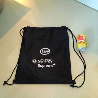 Drawstring bag - Esso branded